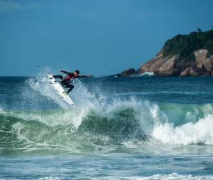 Filipe Toledo during the The Way In photoshoot.