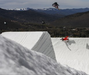 Bode Merrill at the 2014 Winter X Games Real Snow in Aspen, CO
