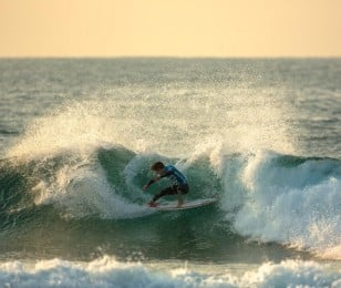 Griffin Colapinto competing at Los Cabos Open of Surf 2015