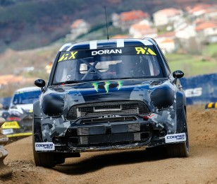 Friday images of Liam Doran from round one of the FIA World Rallycross Championship, Round 1