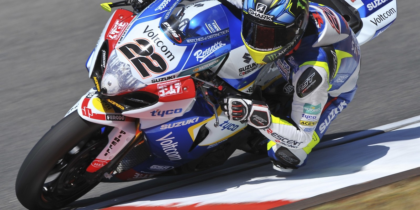 Images of WSB racer Alex Lowes from Round 7 2015