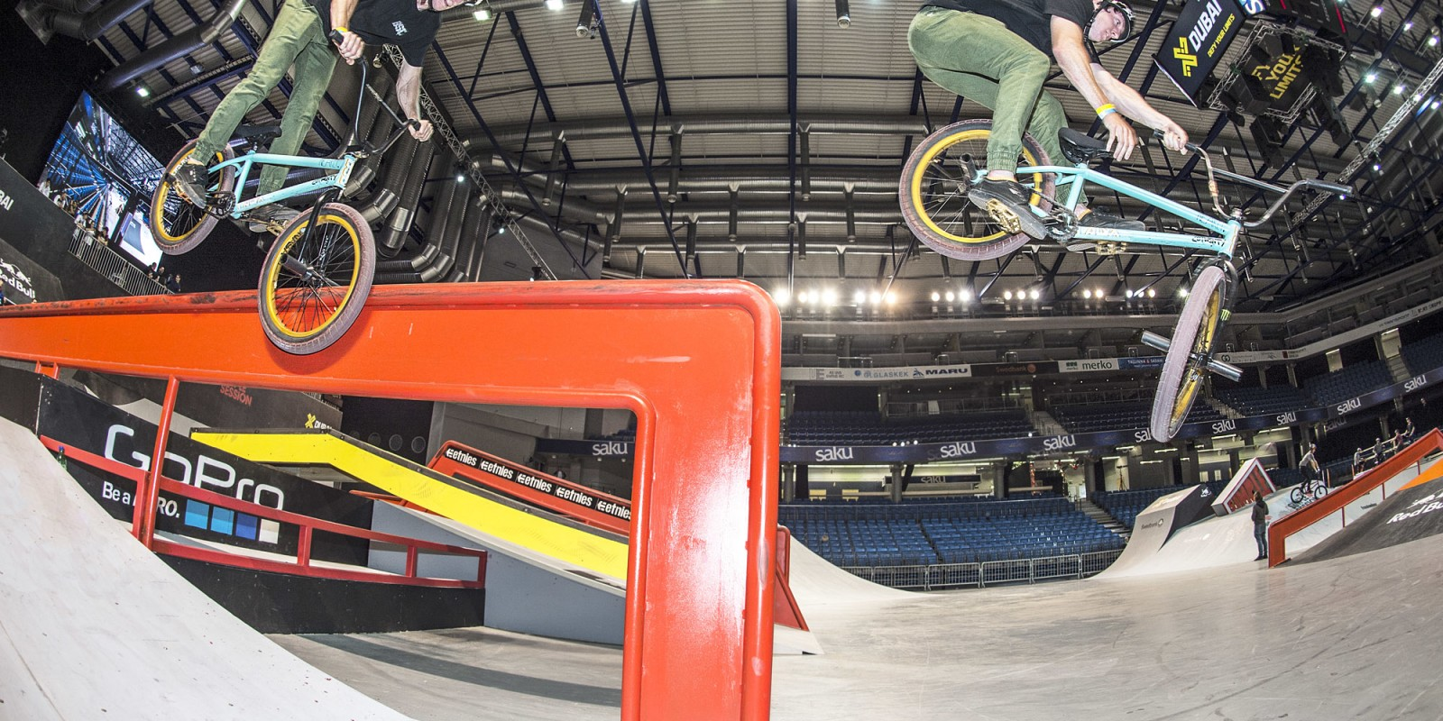 Monster Energy Riders BMX at Simple Sessions 2016 Talin