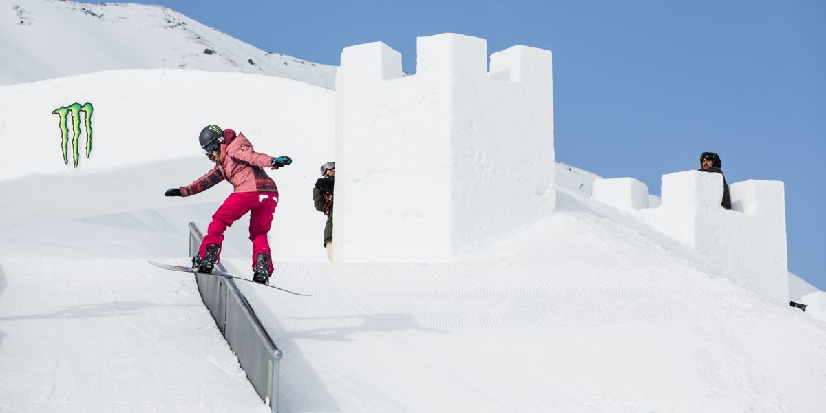 Klaudia Medlova at the 2016 Nine Queens in Serfaus-Fiss-Ladis, Austria