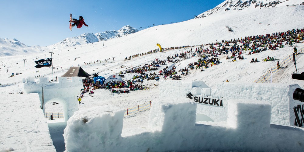 Monster Energy at the 2015 Nine Queens in Serfaus-Fiss-Ladis, Austria