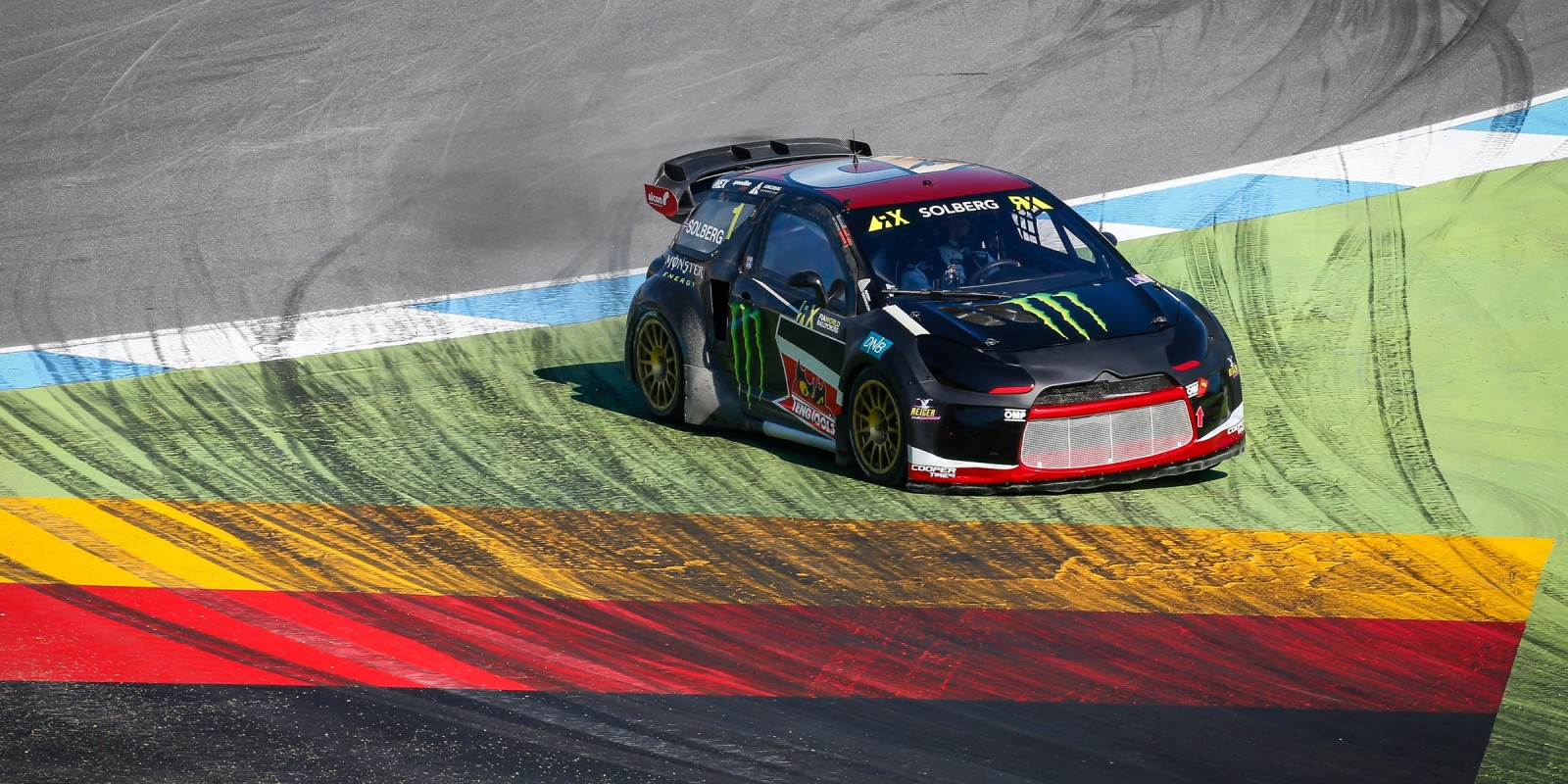 Images from round two of the FIA World Rallycross Championship hosted in Germany