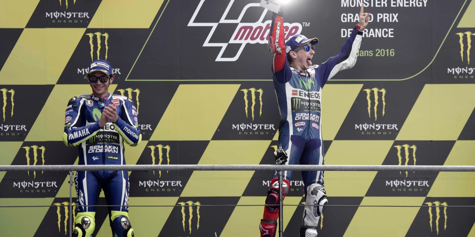 2016 Monster Energy MotoGP Le Mans, France images from race day