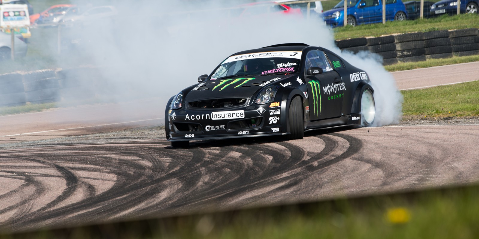 Images from the British Drift GP at Lydden Hill - round two of the 2016 Drift AllStars Championship, Round 2 UK