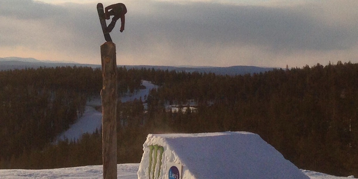 Peetu Piiroinen at the 2015 Onboard Send Off Session in Levi, Finland