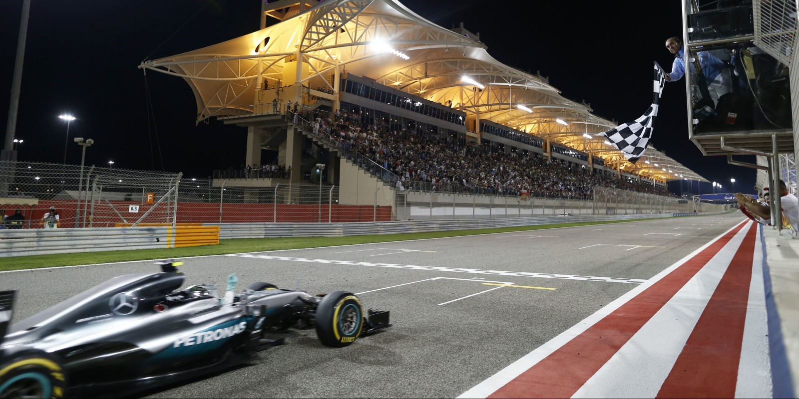 Sunday images of Nico Rosberg from round two of the 2016 Formula One World Championship