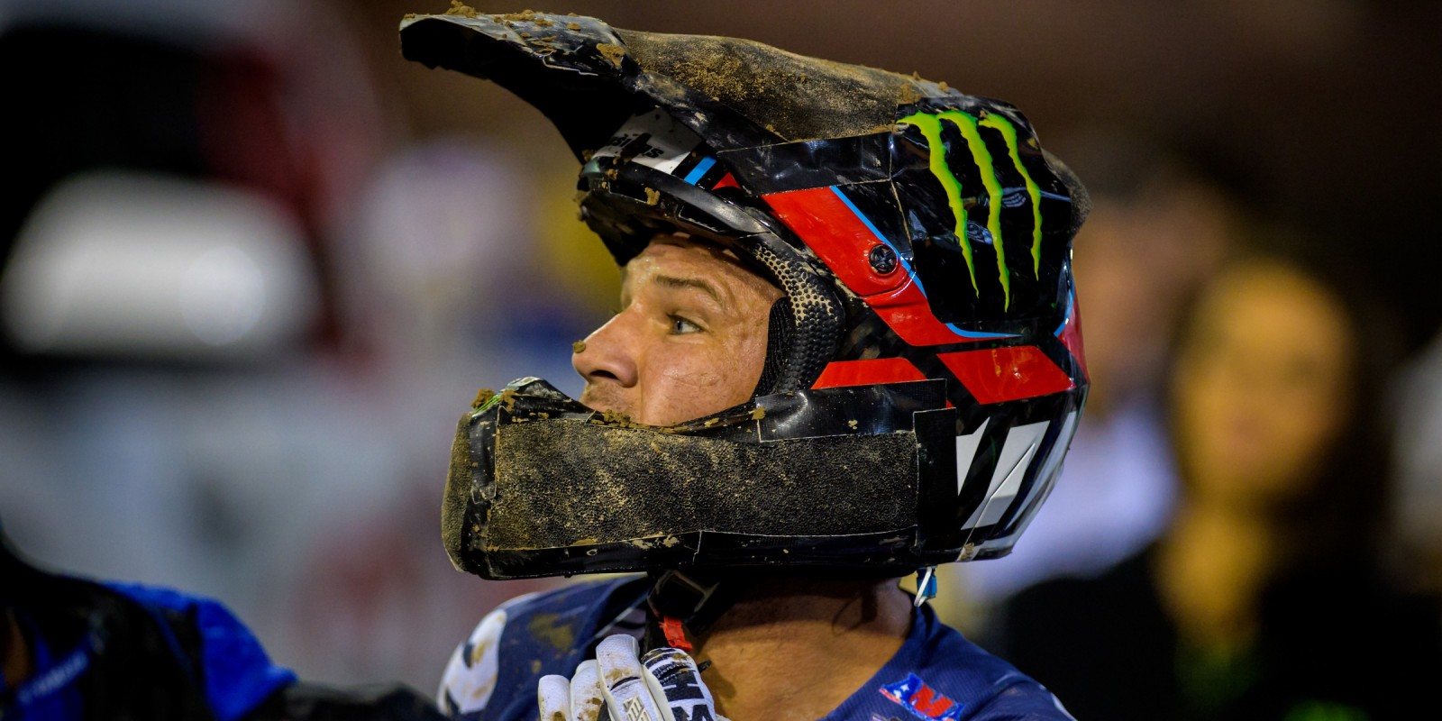Chad Reed during the 2016 Supercross season in Las Vegas