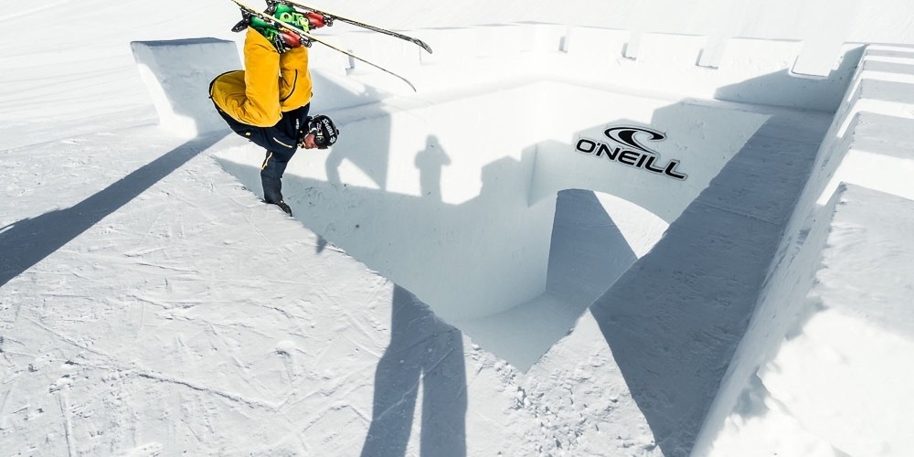 Monster Energy at day 1 of the 2015 Nine Knights in Livigno, Italy