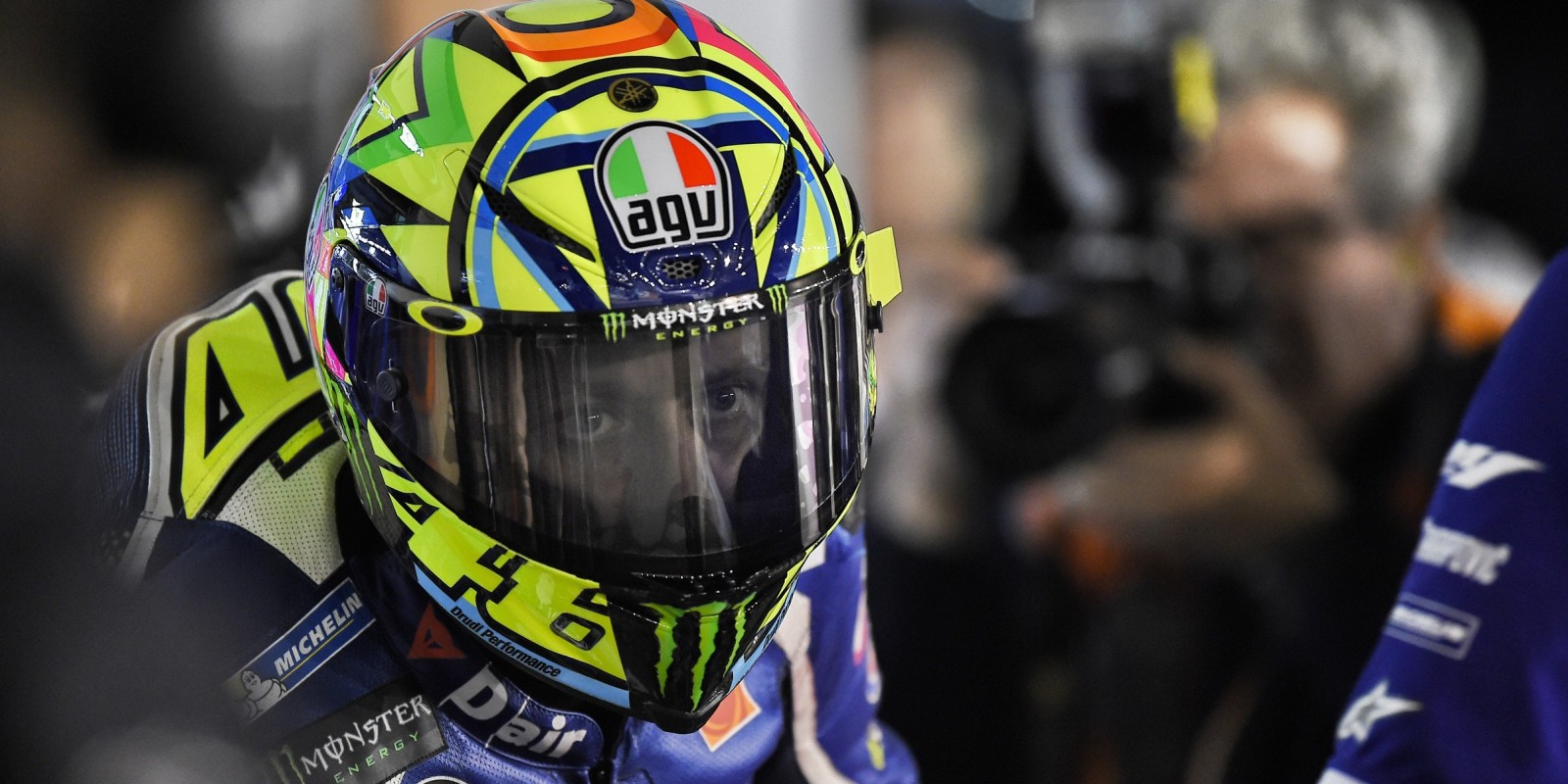 Valentino Rossi at the 2016 Commercial Bank MotoGP Grand Prix of Qatar