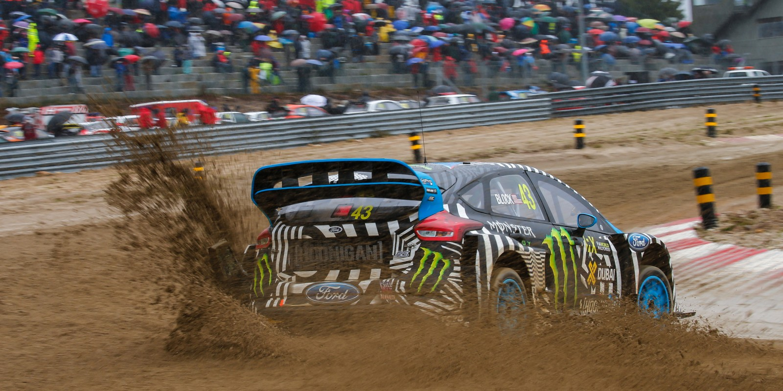Day one / Saturday images of Ken Block from round one of the FIA World Rallycross Championship, Round 1