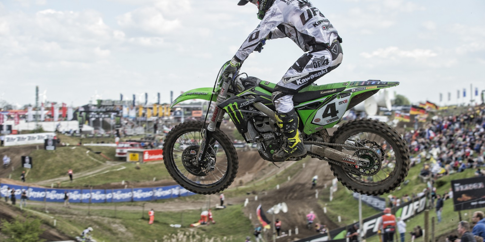Dylan Ferrandis at the 2016 MXGP of Germany