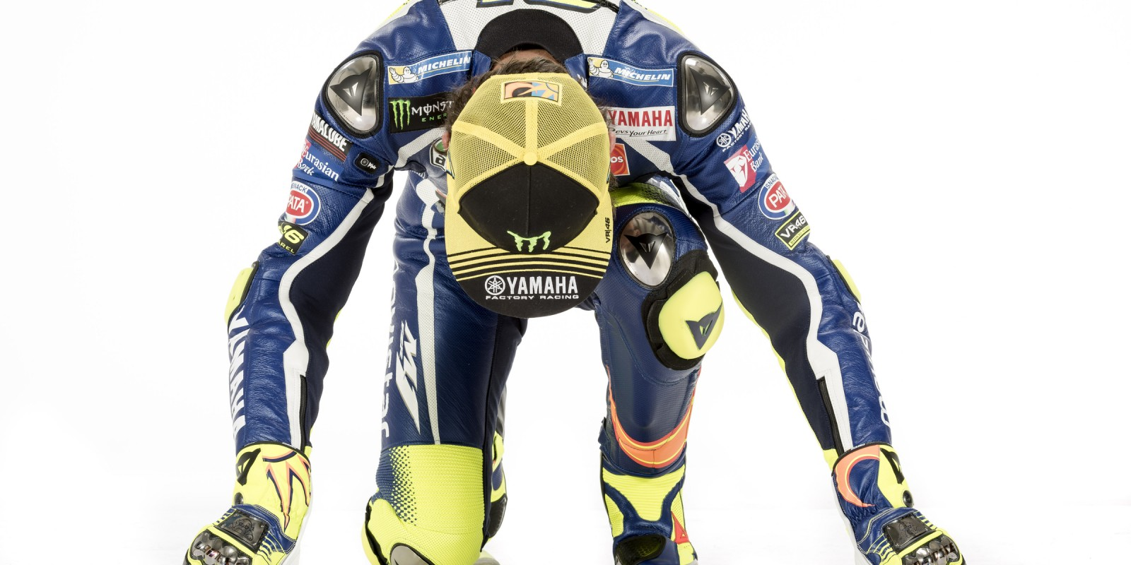 Images of MotoGP legend Valentino Rossi in a pre-season shoot with Yamaha