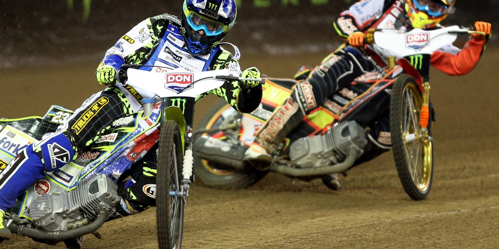 Action images of Chris Holder at the Australian SGP