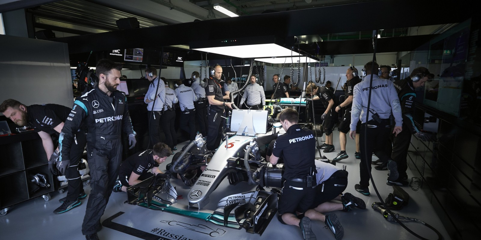 Saturday Qualifying images from the 2016 Russian Grand Prix in Sochi