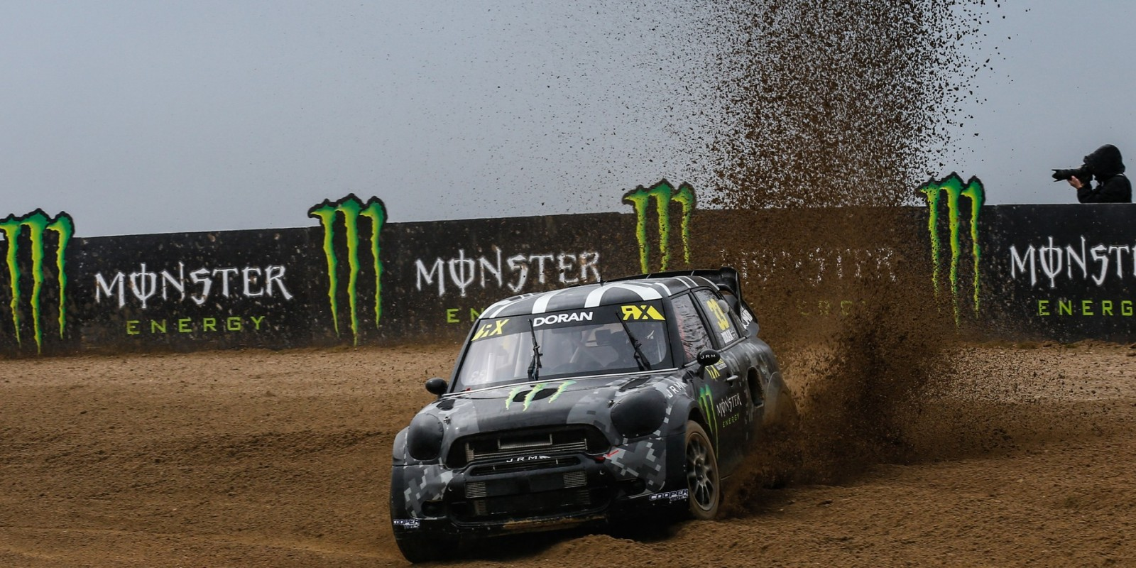 Day one / Saturday images of Liam Doran from round one of the FIA World Rallycross Championship, Round 1