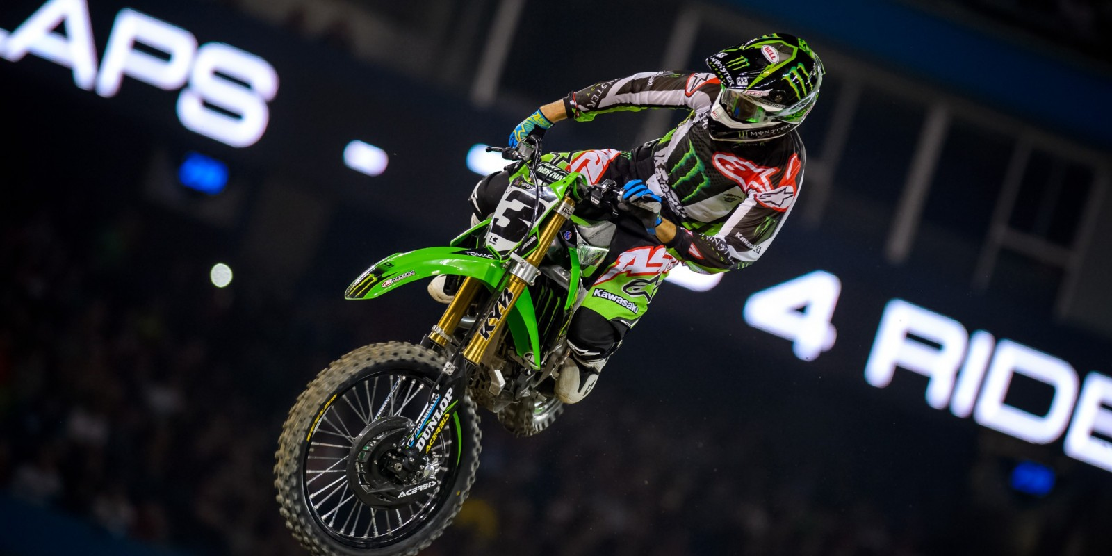 Monster Athletes compete during 2016 SX season in Toronto