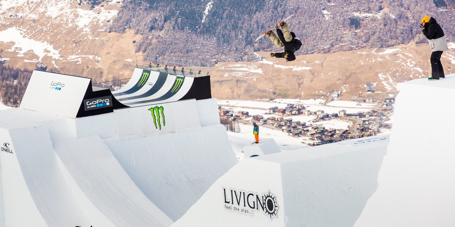 at day 2 of the 2015 Nine Knights in Livigno, Italy