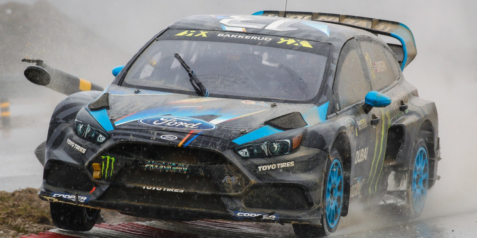 Day one / Saturday images of Andreas Bakkerud from round one of the FIA World Rallycross Championship, Round 1