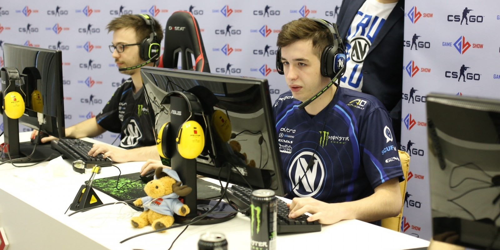 GameShow Global Esports Cup Lan Finals in Vilnius, Lithuania featuring team EnvyUs