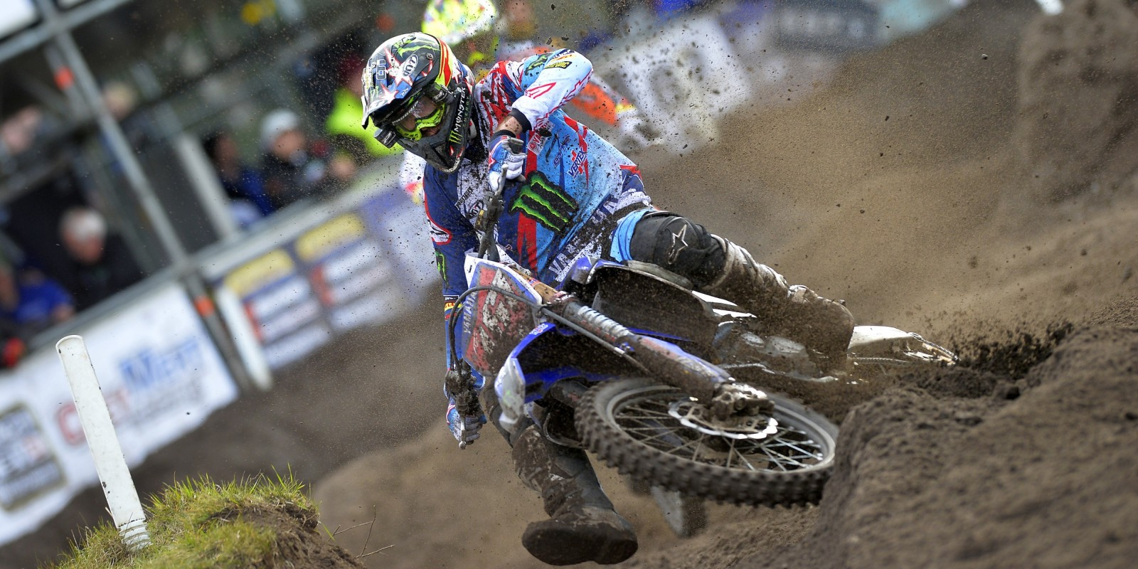 Romain Febvre at the 2016 MXGP of Europe
