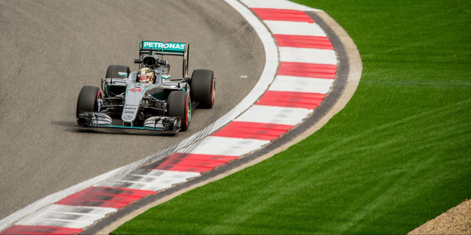 Sunday images from round three of the FIA Formula One World Championship