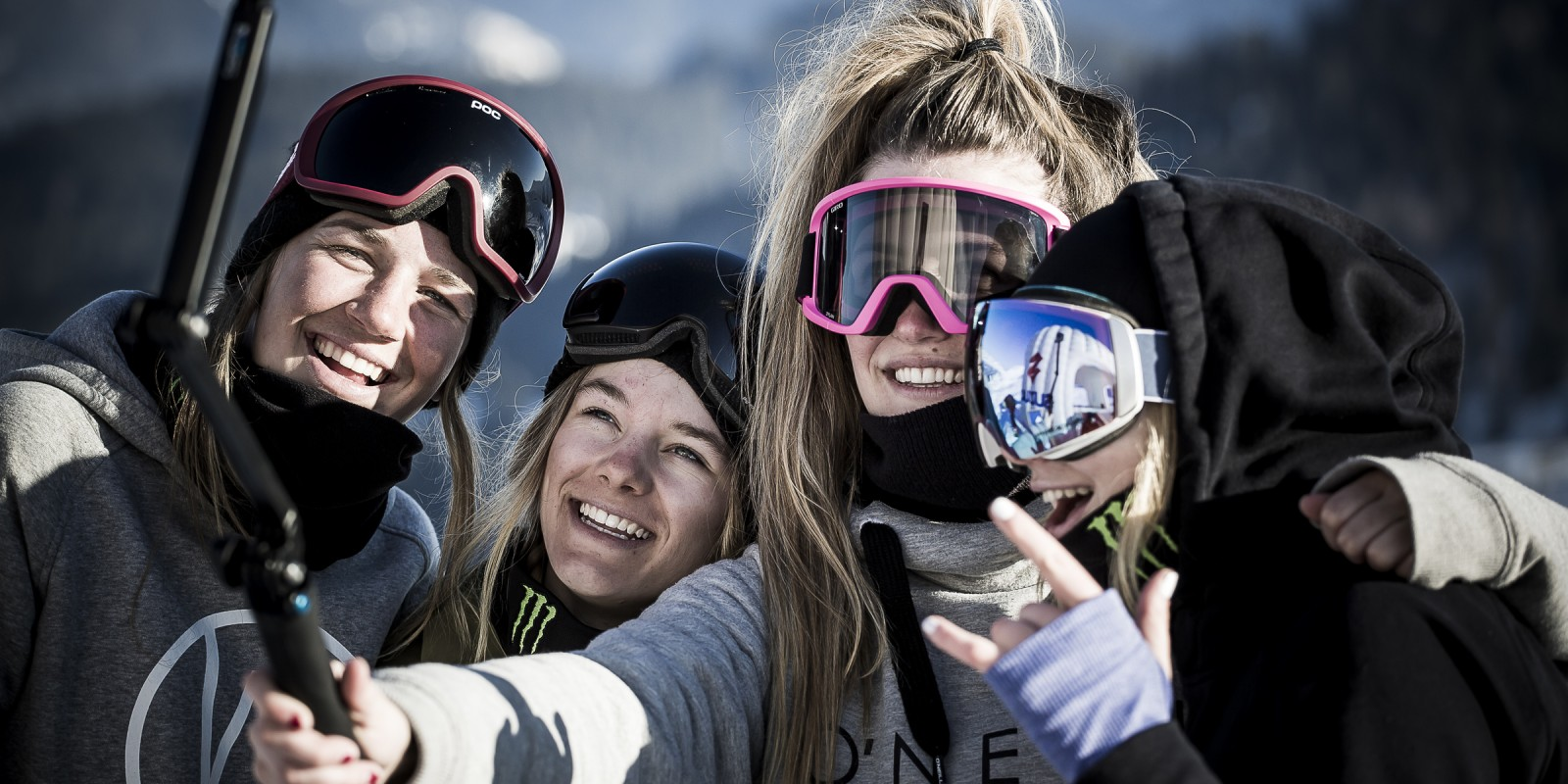 Monster athletes at the 2016 Nine Queens in Serfaus-Fiss-Ladis, Austria