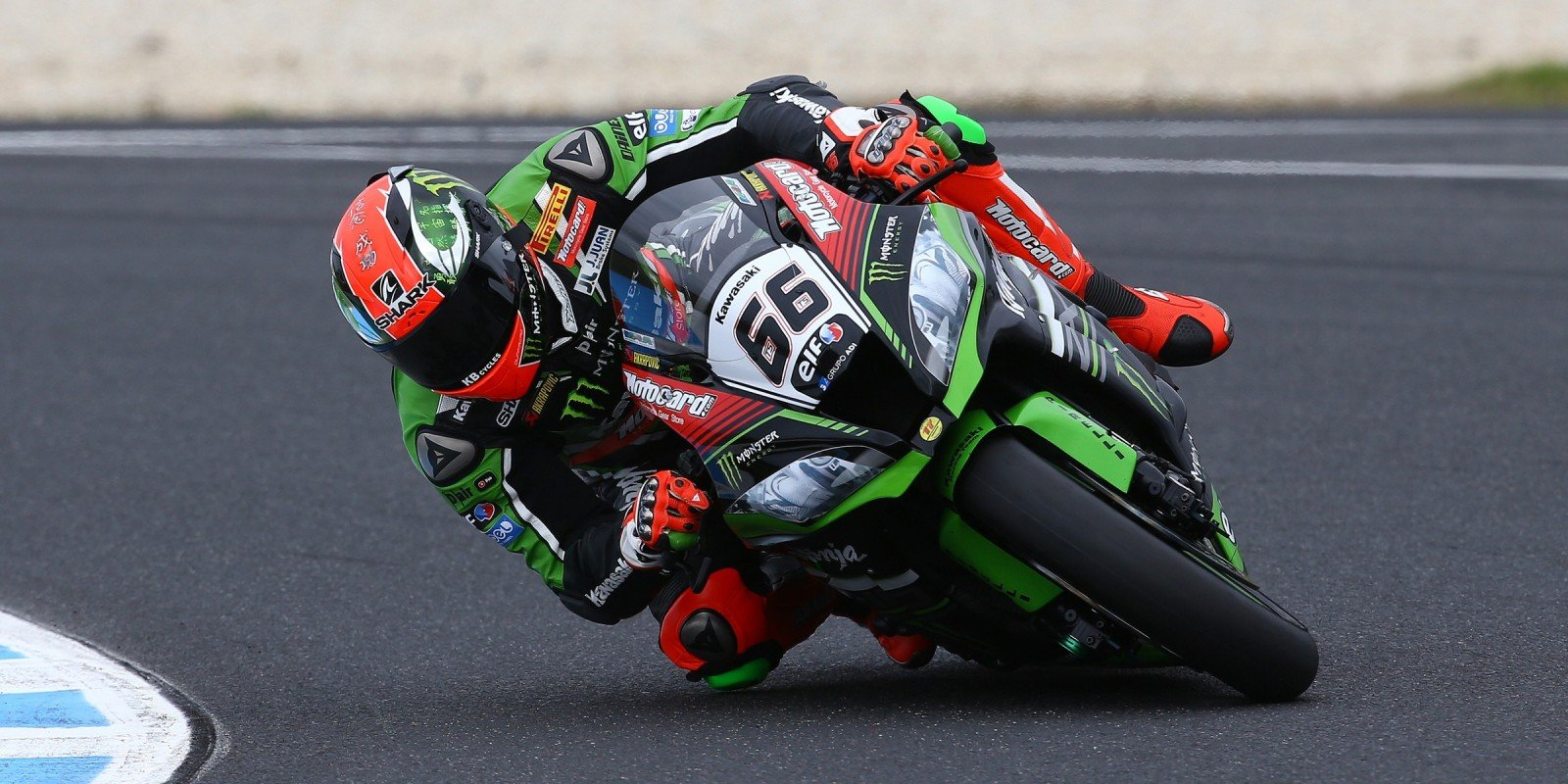 Tom Sykes at the 2016 World Superbike Australian round