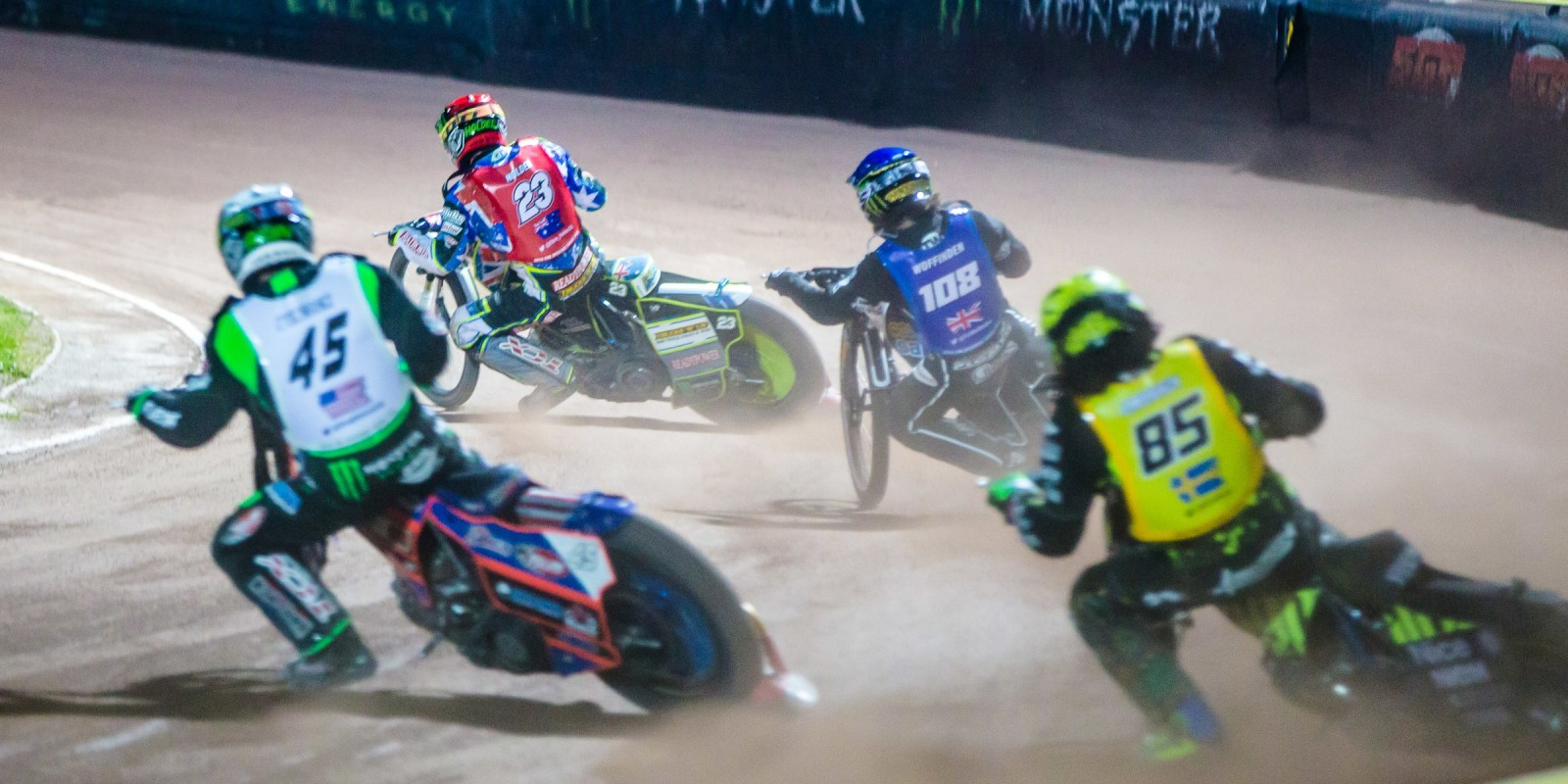 Images from round one of the 2016 speedway gp season, Round One