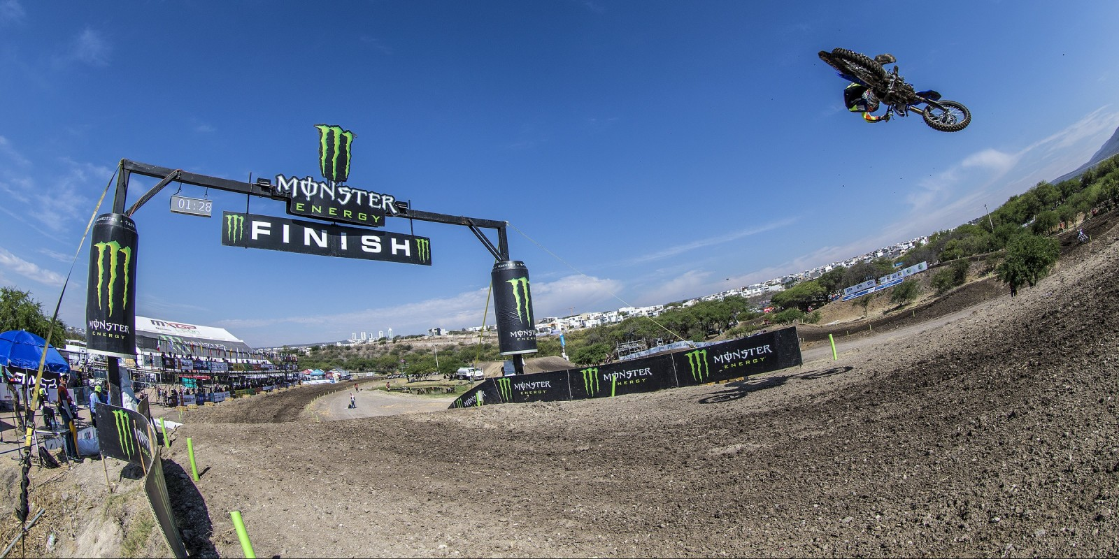 Action from the 2016 MXGP of Mexico