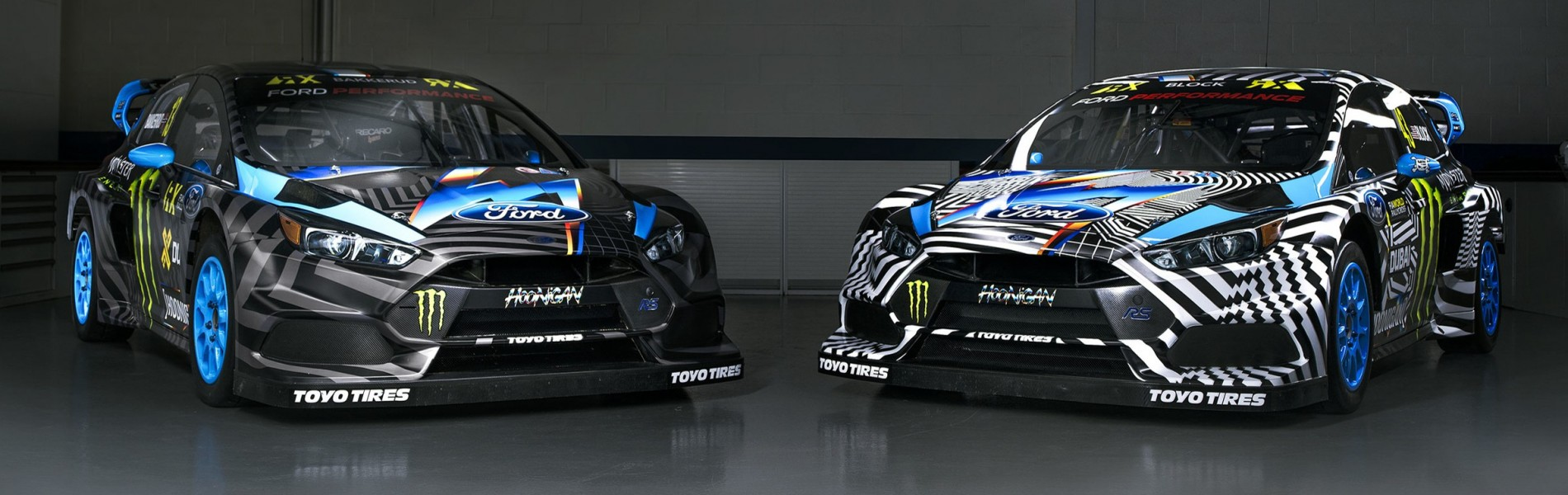 Hoonigan Racing Division 2016 World RX Livery designed by Felipe Pantone
