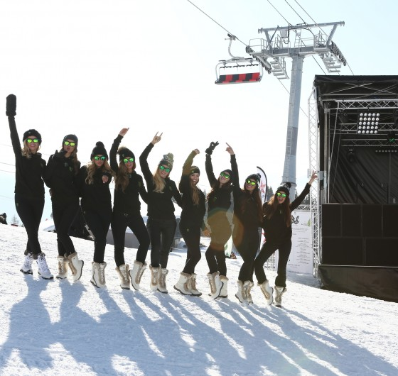 Monster Girls at the 2016 B&E Invitational Photoshoot in Les Arcs, France