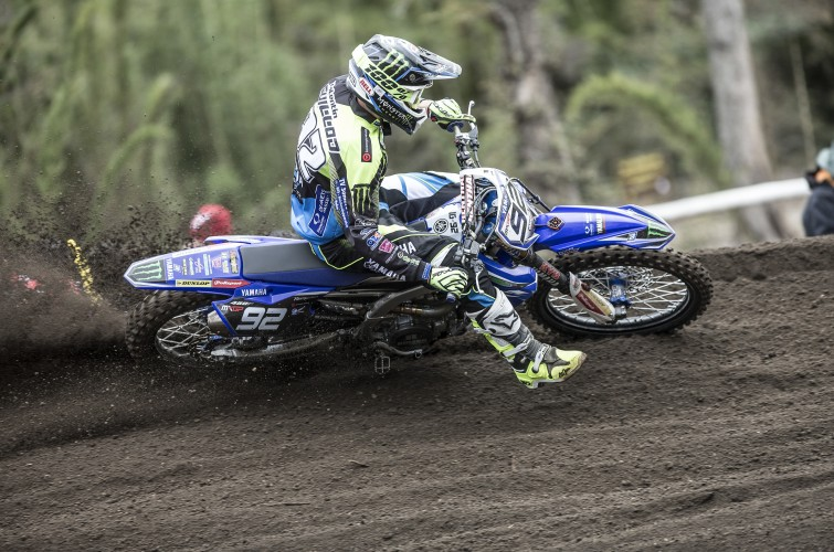 Valentin Guillod at the 2016 MXGP of Argentina