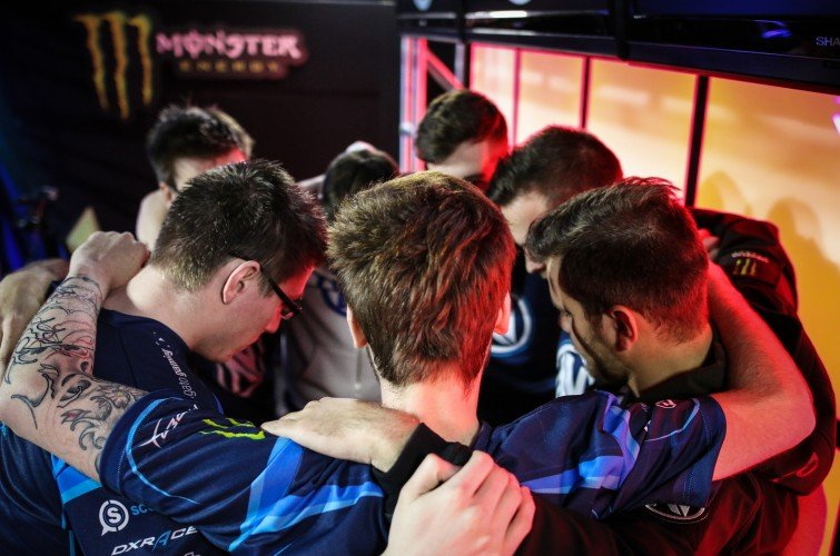 Team EnVyUs at the 2016 MLG CSGO in Ohio