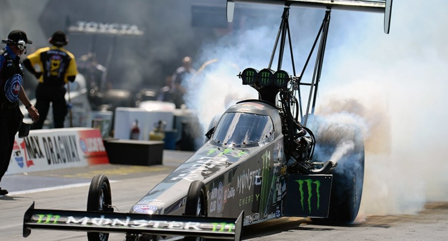 Brittany Force at NHRA 2016 Four-Wide Nationals in Concord, NC