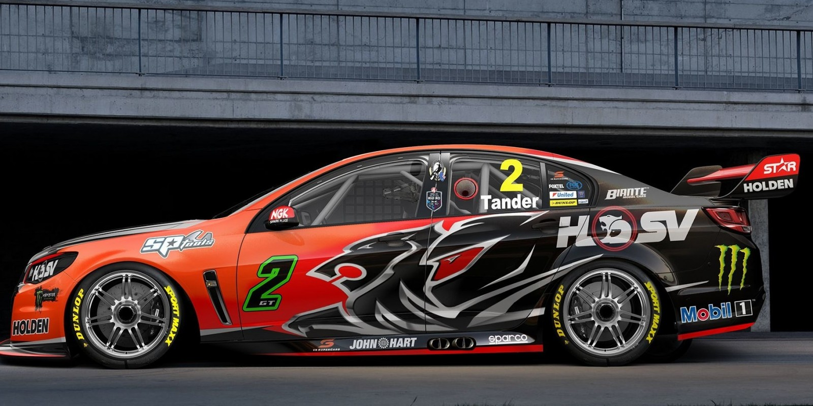 Holden Race Team's Garth Tander at the 2016 HRT Livery Launch