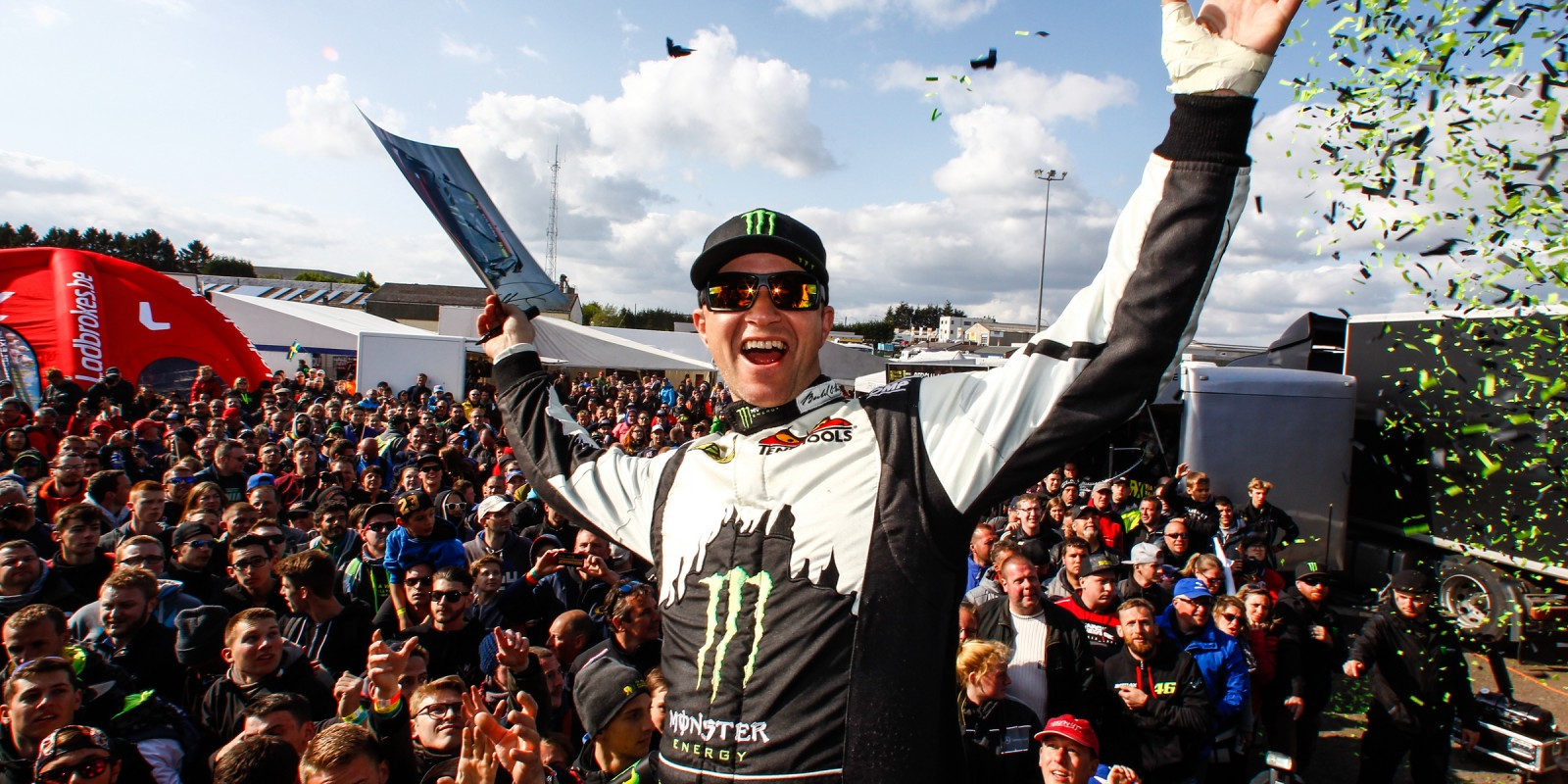 Images from Sunday at round three of the 2016 FIA World Rallycross Championship in Belgium