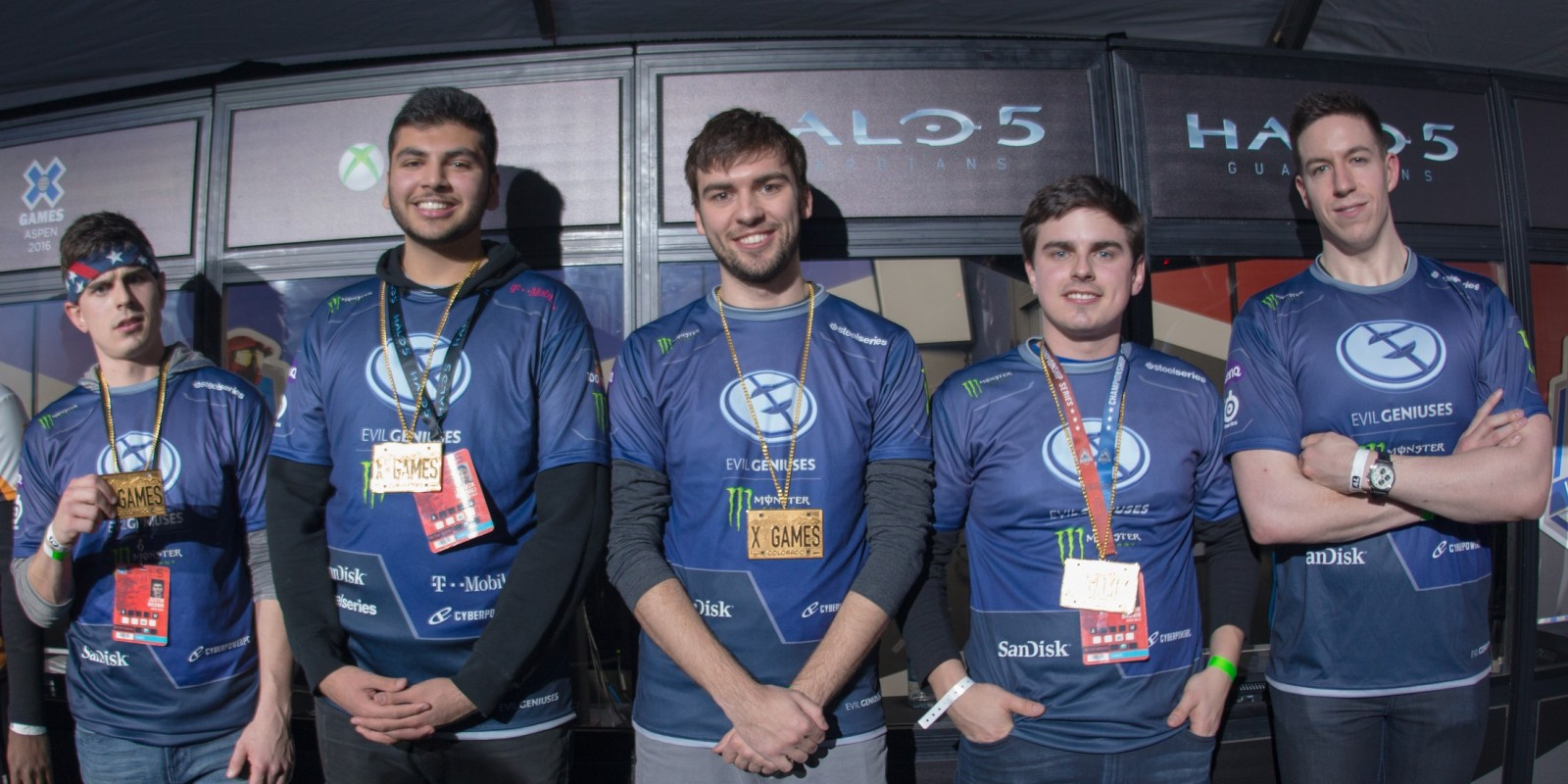 Evil Geniuses Halo at the 2016 Winter X Games in Aspen