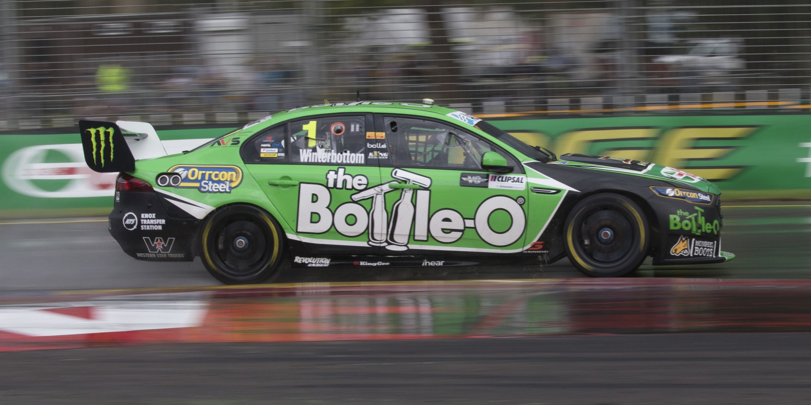 Monster Energy Racing's Mark Winterbottom at the 2016 Clipsal 500