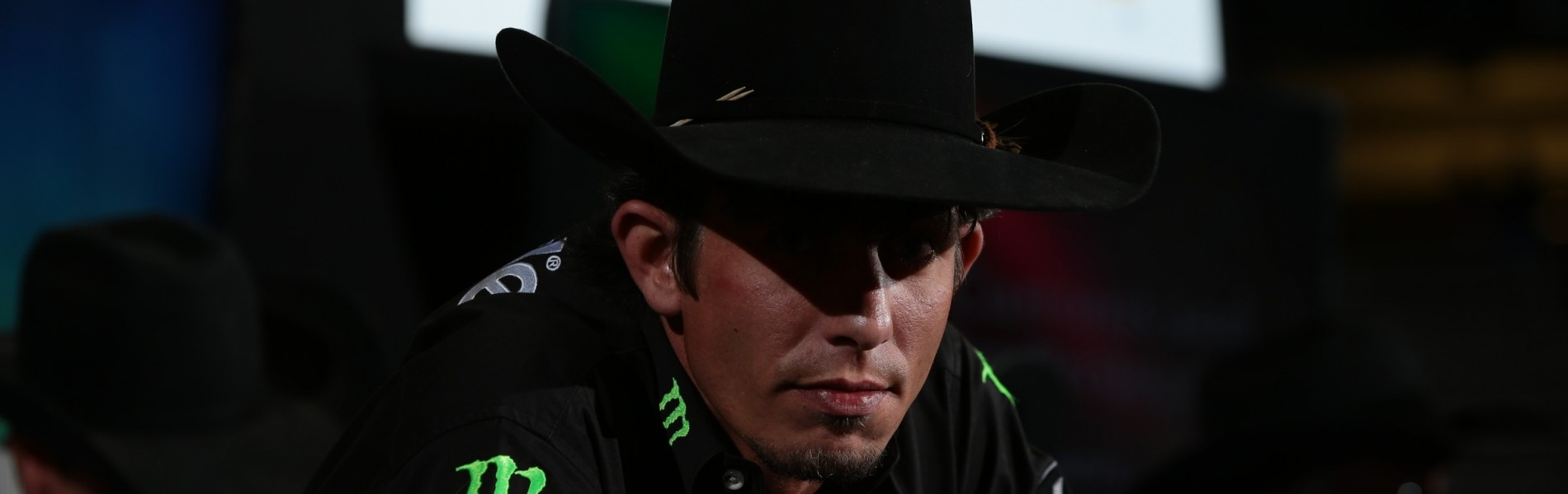 JB Mauney during the first round of the Albuquerque Built Ford Tough Series PBR