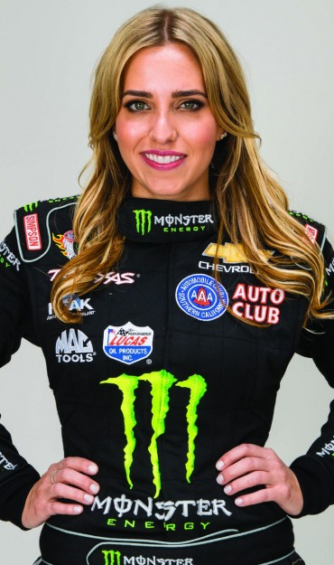 Photo Shoot with Brittany Force Drag Team in Corona, California.