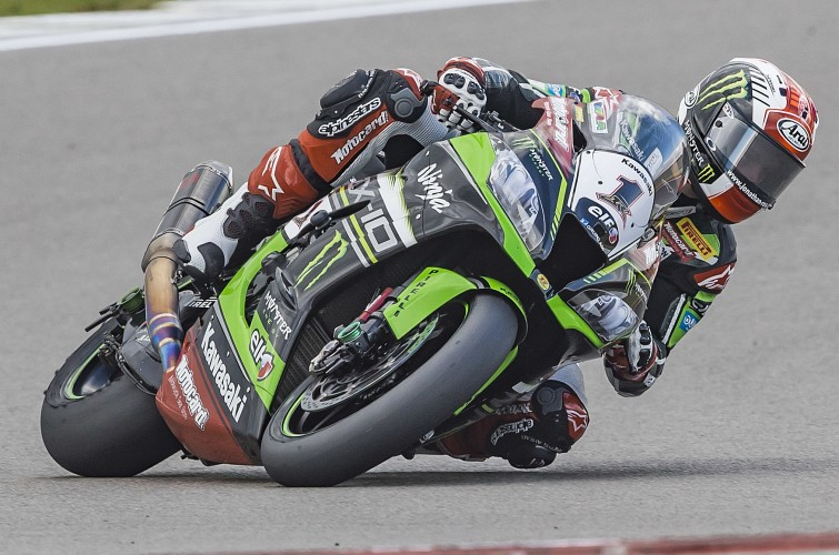 Jonathan Rea at the 2016 World Superbike Dutch round
