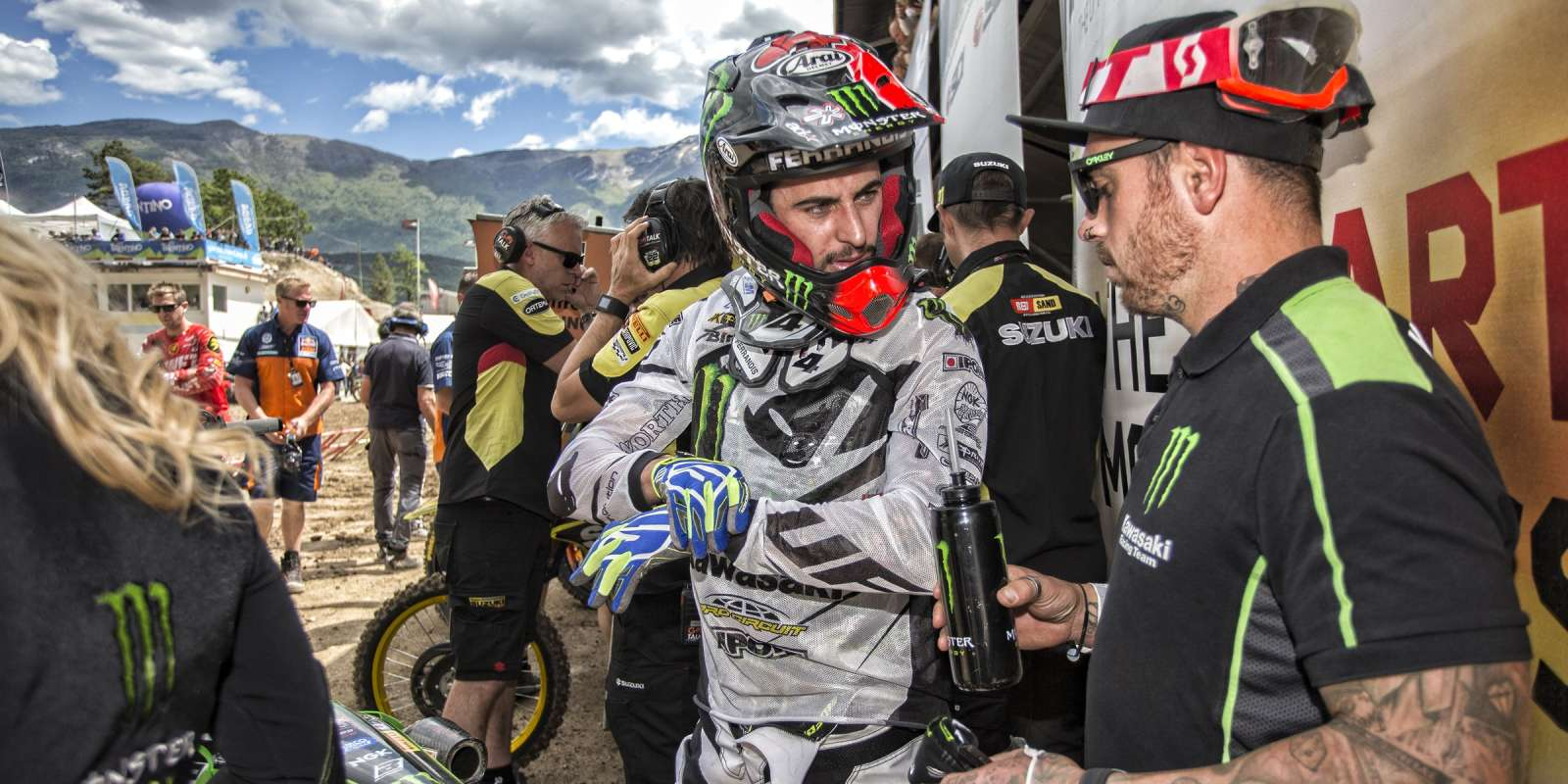 Dylan Ferrandis at the 2016 MXGP of Trentino