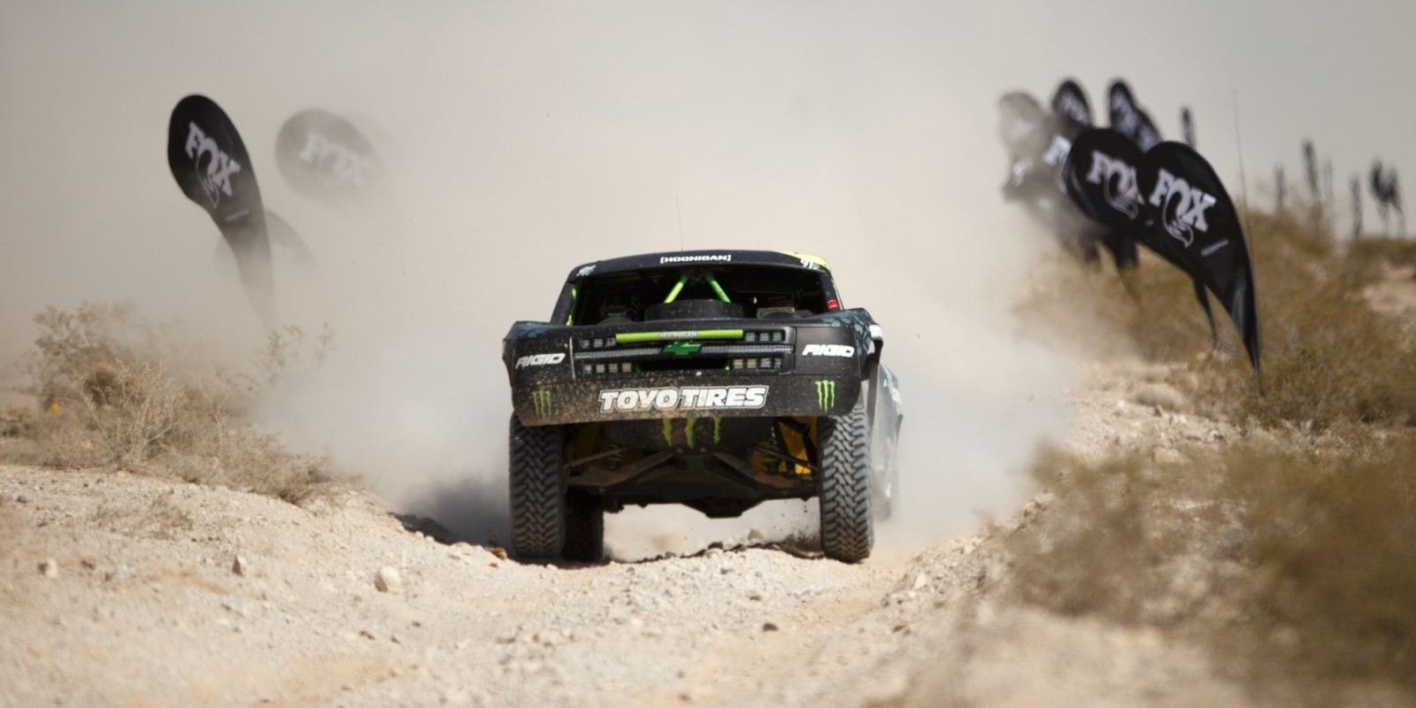 BJ Baldwin during the 2016 Mint Off Road race
