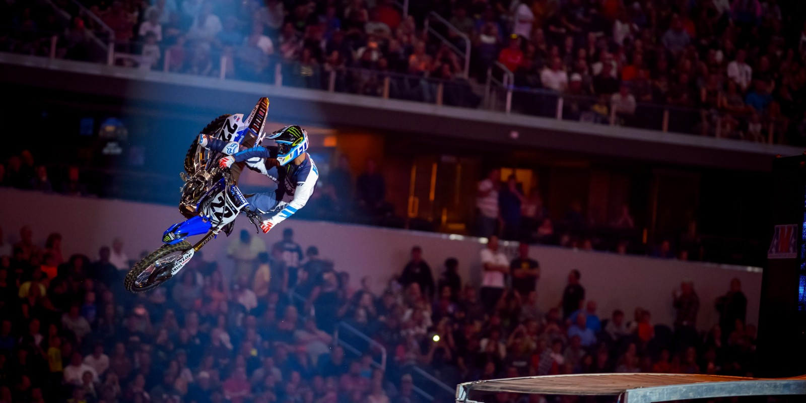 Chad Reed competes int he 2016 SX season in Arlington.
