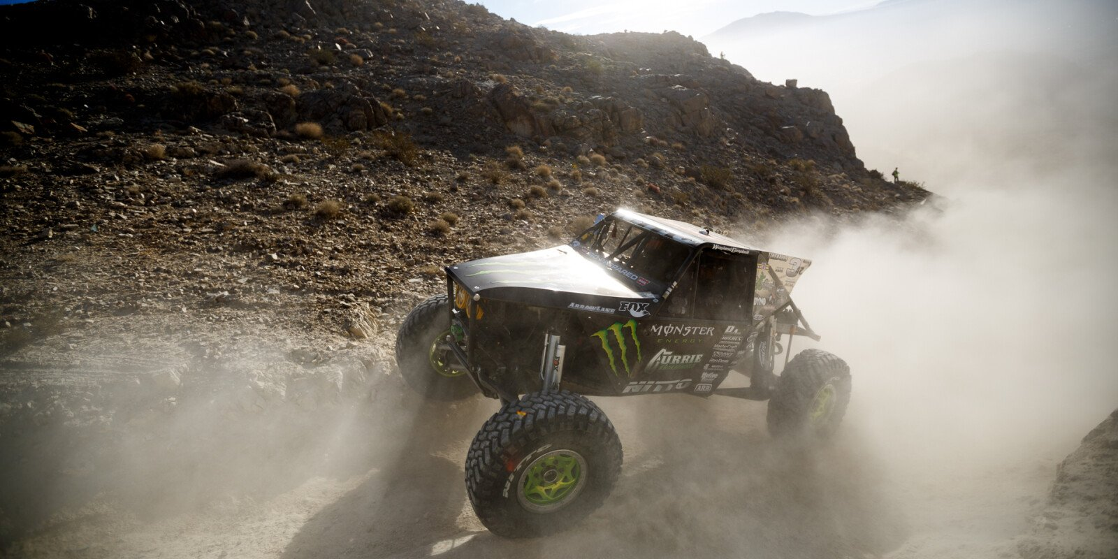 Monster Off Road athletes compete at the 2015 King of the Hammers race.