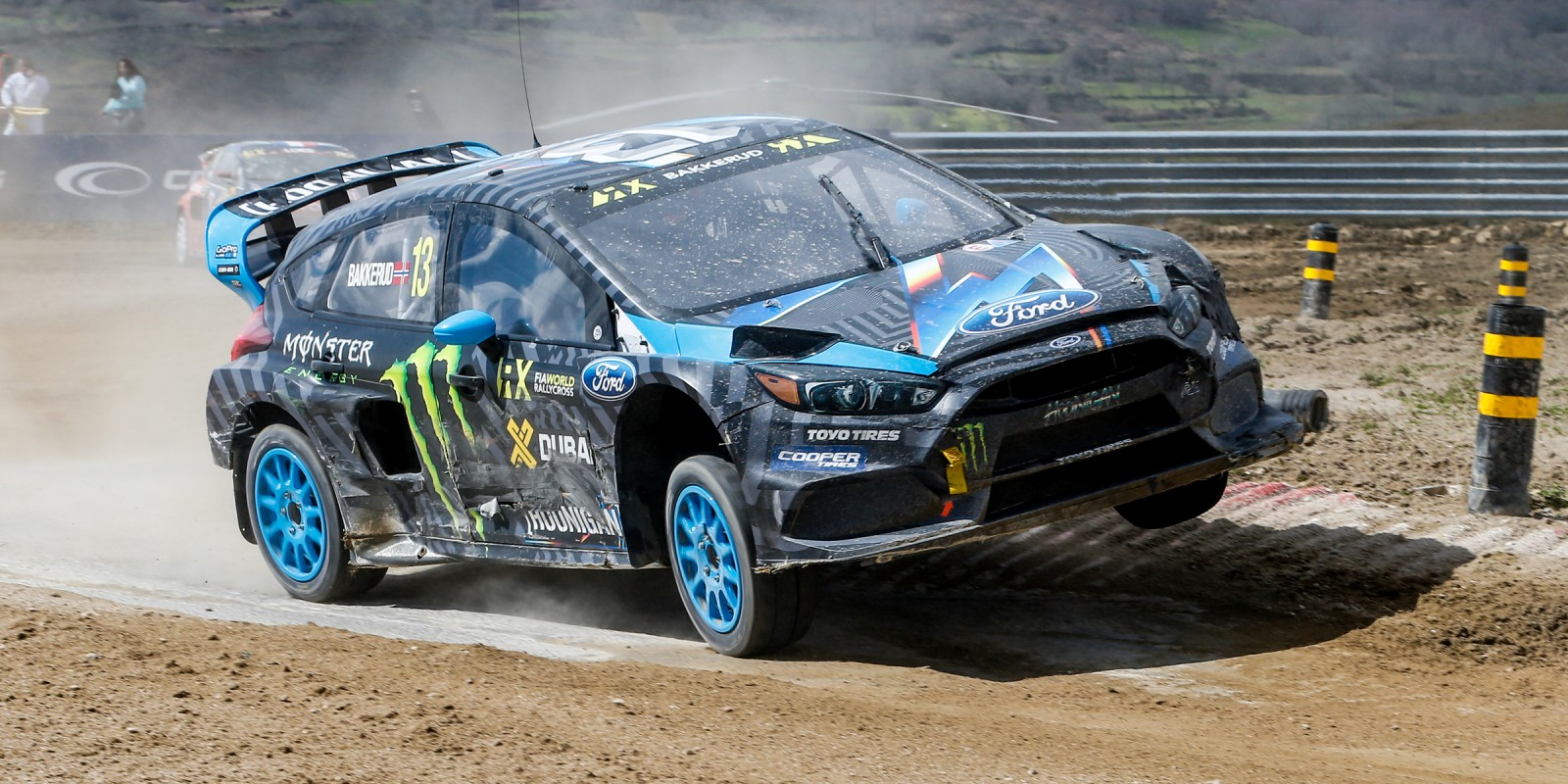 Day two images from round one of the FIA World Rallycross Championship, Round One - Race day