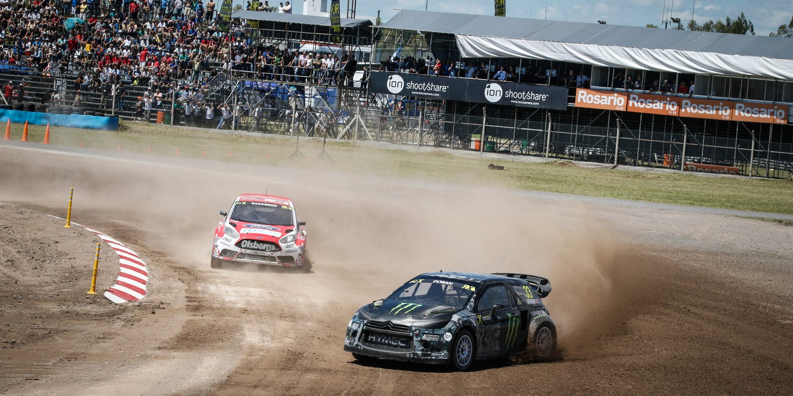 Liam Doran at the 2015 World Rallycross in Argentina